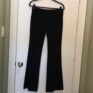 Theory striped textured work pants